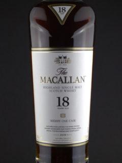 Macallan 18 front zoom