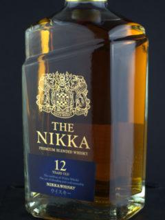 Nikka 12 front zoom