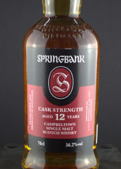 Springbank 12 front zoom
