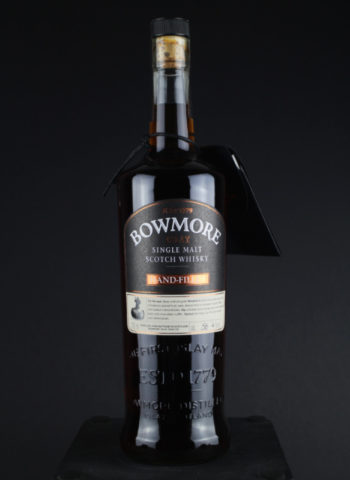 bowmore handfilled 21 front