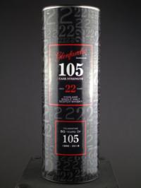 Glenfarclas 105 22 Yr box front